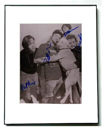 Magnapop Autographed Full Band Signed 8x10 Photo UACC RD AFTAL