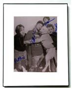 Magnapop Autographed x4 Signed Framed B/W Photo UACC RD AFTAL