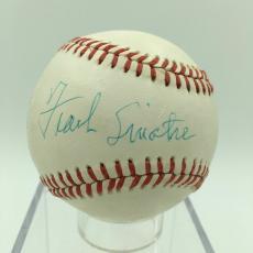 Magnificent Frank Sinatra Single Signed Autographed American League Baseball JSA