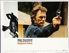 Magnum Force 14×11 Dirty Harry Movie Lobby Card Poster Clint Eastwood