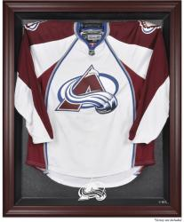 Colorado Avalanche Mahogany Jersey Display Case - Mounted Memories