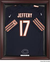 Chicago Bears Frame Jersey Display Case - Mahogany - Mounted Memories