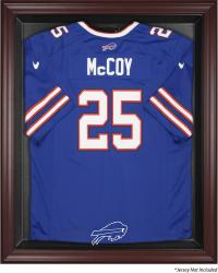 Buffalo Bills Frame Jersey Display Case - Mahogany