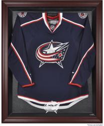 Columbus Blue Jackets Mahogany Jersey Display Case