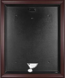 St. Louis Blues Mahogany Jersey Display Case