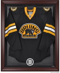 Boston Bruins Mahogany Jersey Display Case - Mounted Memories