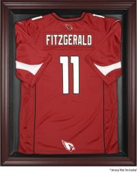 Arizona Cardinals Frame Jersey Display Case - Mahogany - Mounted Memories