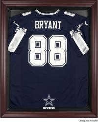Dallas Cowboys Mahogany Frame Jersey Display Case