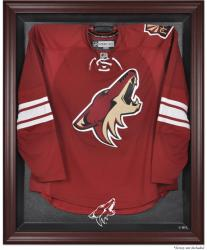 Phoenix Coyotes Mahogany Jersey Display Case - Mounted Memories