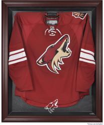 Phoenix Coyotes Mahogany Jersey Display Case