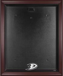 Anaheim Ducks Mahogany Jersey Display Case - Mounted Memories