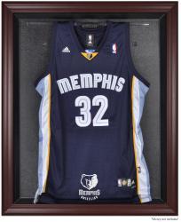 Memphis Grizzlies Mahogany Framed Team Logo Jersey Display Case