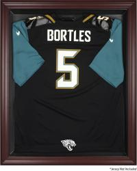 Jacksonville Jaguars Mahogany Framed Jersey Display Case