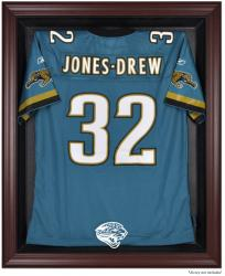 Jacksonville Jaguars Mahogany Frame Jersey Display Case - Mounted Memories