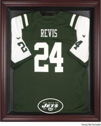 New York Jets Mahogany Frame Jersey Display Case