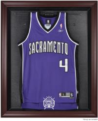 Sacramento Kings Mahogany Framed Team Logo Jersey Display Case - Mounted Memories