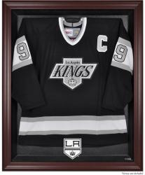 Los Angeles Kings Mahogany Jersey Display Case - Mounted Memories