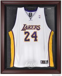 Los Angeles Lakers Mahogany Framed Team Logo Jersey Display Case
