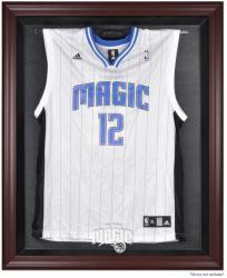 Orlando Magic Mahogany Framed Team Logo Jersey Display Case