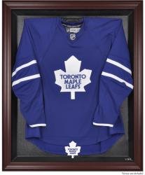 Toronto Maple Leafs Mahogany Jersey Display Case - Mounted Memories