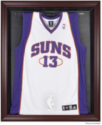 NBA Logo Mahogany Framed Jersey Display Case