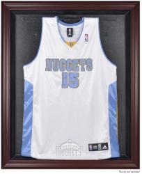 Denver Nuggets Mahogany Framed Team Logo Jersey Display Case