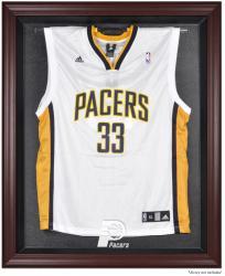 Indiana Pacers Mahogany Framed Team Logo Jersey Display Case