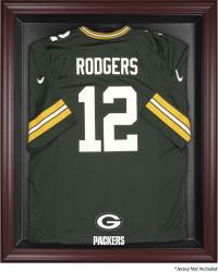 Green Bay Packers Mahogany Frame Jersey Display Case