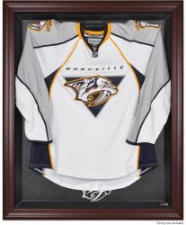 Nashville Predators Mahogany Jersey Display Case - Mounted Memories