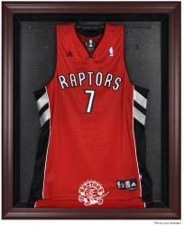 Toronto Raptors Mahogany Framed Team Logo Jersey Display Case