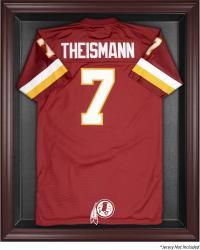 Washington Redskins Mahogany Frame Jersey Display Case