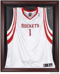 Houston Rockets Mahogany Framed Team Logo Jersey Display Case