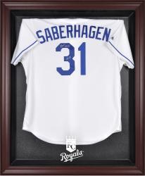 Kansas City Royals Mahogany Framed Logo Jersey Display Case