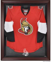 Ottawa Senators Mahogany Jersey Display Case - Mounted Memories