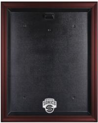 Seattle SuperSonics Mahogany Finished Logo Jersey Case - Mounted Memories