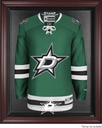 Dallas Stars Mahogany Jersey Display Case