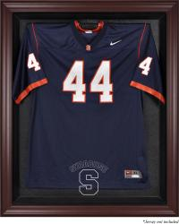 Syracuse Orange Mahogany Framed Logo Jersey Display Case