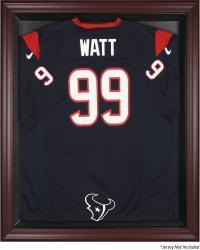 Houston Texans Mahogany Frame Jersey Display Case