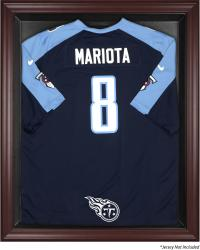 Tennessee Titans Mahogany Frame Jersey Display Case