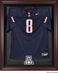 Arizona Wildcats Mahogany Framed Logo Jersey Display Case