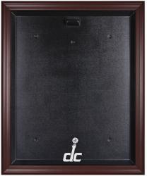 Washington Wizards Mahogany Framed Team Logo Jersey Display Case