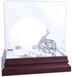 Mahogany Mini Helmet Display Case