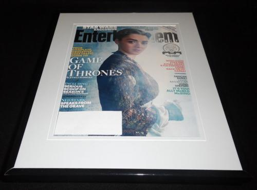 Maisie Williams Arya Framed 2015 Entertainment Weekly Cover Game of Thrones