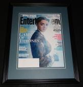Maisie Williams Framed ORIGINAL 2015 Entertainment Weekly Cover Game of Thrones