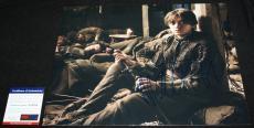 Maisie Williams signed 11 x 14, Game of Thrones, Arya Stark, PSA/DNA