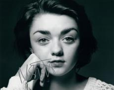 Maisie Williams Signed Autographed 8x10 Photo Game of Thrones Arya Stark COA VD