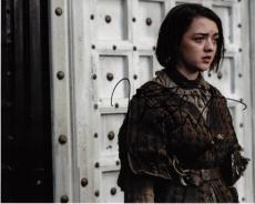 Maisie Williams Signed - Autographed Game of Thrones 8x10 Photo - Arya Stark