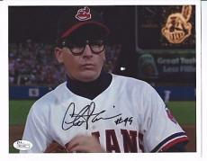 Major League CHARLIE SHEEN Signed 8x10 Photo JSA AUTHENTICATED