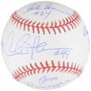 Major League Team Signed Baseball with 5 Signatures - BAS