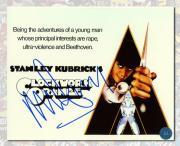 Malcolm McDowell Autographed Alex Delarge A Clockwork Orange 8x10 Photo